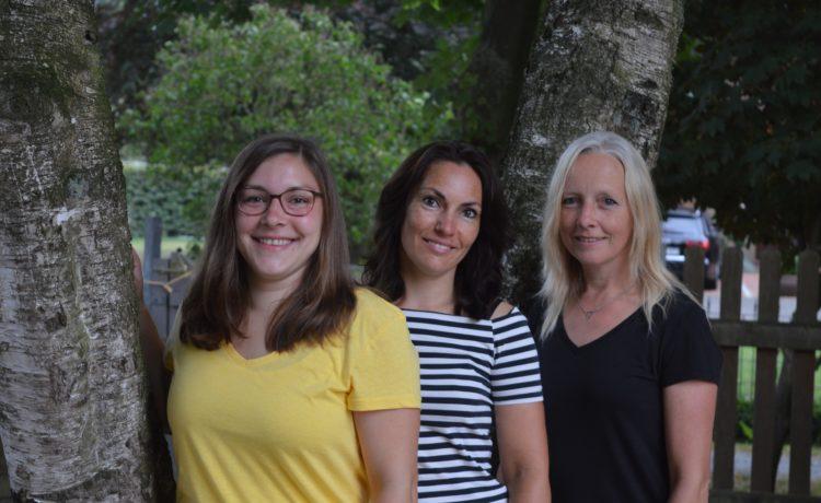 """In der Gruppe """"Lüttje Haskes"""" arbeiten die pädagogischen Fachkräfte Marie Lücke, Daniela Reiners ..."""