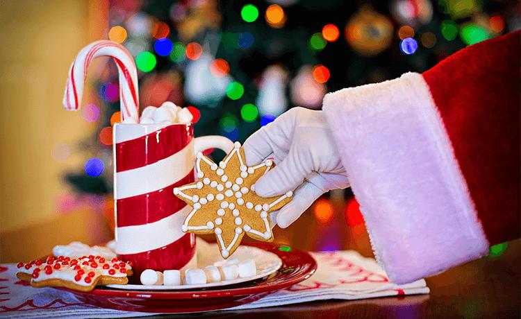 Der Weihnachtsmann besucht die Kinderkrippe am 11.12.2019 ...